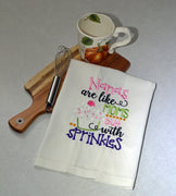 Nana Sprinkles Tea Towel