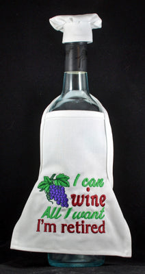 Wine Bottle Apron - Retired ....