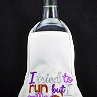 Tried to Run - Bottle Apron