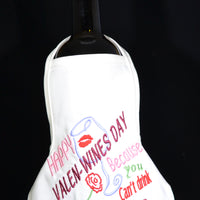 Valentines Day ( Valen-Wines) - Bottle Apron