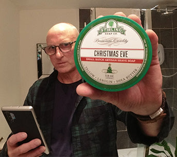A festive shave with Stirling's Christmas Eve