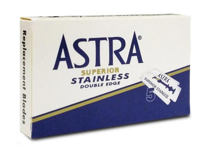 You added Astra Blue Superior Stainless Razor Blades ( Pack of 5) to your cart.