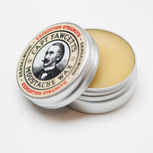 You added Captain Fawcett Expedition Strength Moustache Wax to your cart.