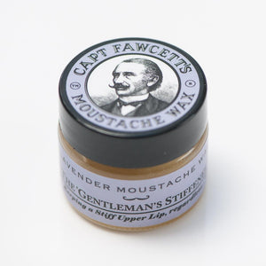 You added Captain Fawcett Lavender Moustache Wax to your cart.