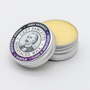 You added Captain Fawcett Nebular Moustache Wax to your cart.