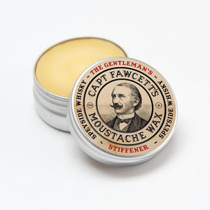 You added Captain Fawcett Stiffener Moustache Wax to your cart.