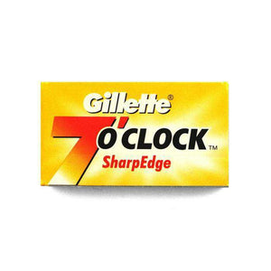 You added Gillette 7 O'Clock Yellow Razor Blades ( Pack of 5) to your cart.