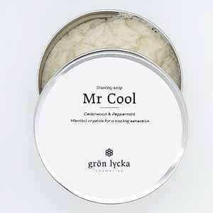 You added Grön Lycka Mr Cool Shaving Soap 150g to your cart.
