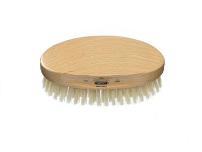 You added Kent Men's Beechwood Pure White Bristle Oval Brush to your cart.