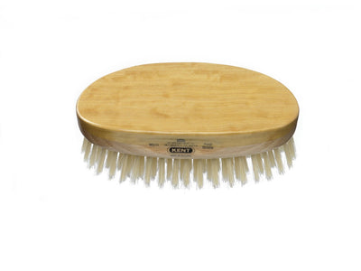 You added Kent Men's Finest Satinwood Pure White Bristle Oval Brush to your cart.