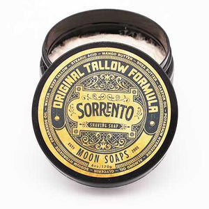 You added Sorrento Shave Soap by Moon Soaps 6oz / 170gm to your cart.