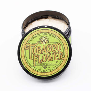 You added Tobacco Flower Shave Cream by Moon Soaps 6oz / 170gm to your cart.