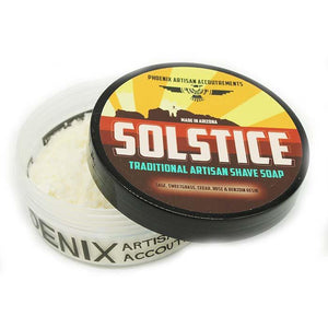 You added Phoenix Artisan Accoutrements Solstice Shaving Soap 4oz (114g) to your cart.