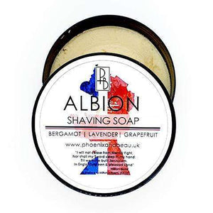 You added Phoenix & Beau Albion Shaving Soap to your cart.
