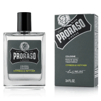 You added Proraso Eau de Cologne Cypress Vetiver 100ml to your cart.