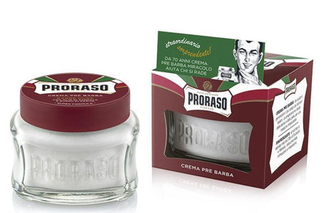 You added Proraso Pre Shave Cream Red 100ml to your cart.