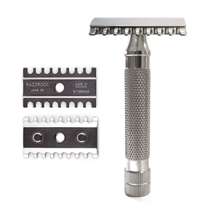 You added RazoRock Game Changer 68 JAWS Stainless Steel Safety Razor to your cart.