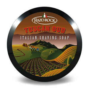 You added RazoRock Tuscan Oud Shaving Soap 150g to your cart.