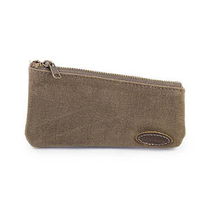 You added RazoRock Water Repellent Waxed Canvas Zippered Razor Pouch - Military green to your cart.
