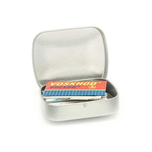 You added Shaving Time Variety Razor Blade Tin (14 blades) to your cart.