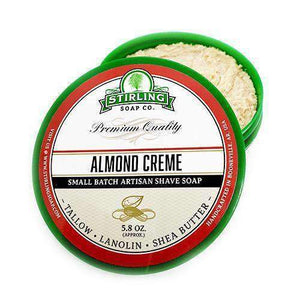 You added Stirling Almond Creme Shaving Soap 164g (5.8oz) to your cart.