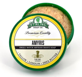 You added Stirling Amyris Shaving Soap Jar 164g (5.8oz) - Limited Edition to your cart.
