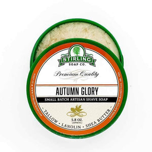 You added Stirling Autumn Glory Shaving Soap Jar 164g (5.8oz) to your cart.