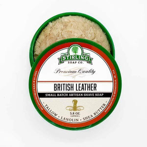 You added Stirling British leather Shaving Soap 164g (5.8oz) to your cart.