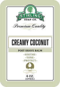 You added Stirling Creamy Coconut Post Shave Balm 4oz (118ml) to your cart.