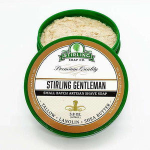 You added Stirling Gentleman  Shaving Soap 164g (5.8oz) to your cart.
