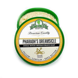 You added Stirling Pharaoh's Dreamsicle Shaving Soap 164g (5.8oz) to your cart.