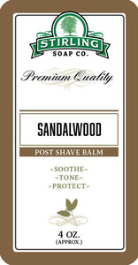 You added Stirling Sandalwood Post Shave Balm 4oz (118ml) to your cart.