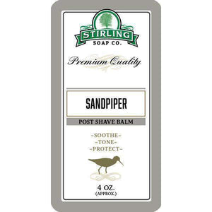 You added Stirling Sandpiper - Post Shave Balm 4oz (118ml) to your cart.