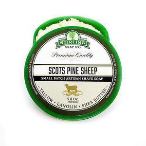 You added Stirling Scots Pine Sheep Shaving Soap 164g (5.8oz) to your cart.