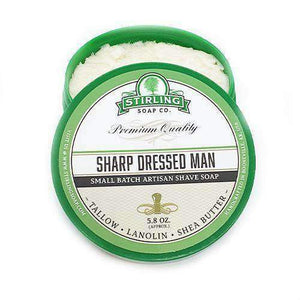 You added Stirling Sharp Dressed Man Shaving Soap 164g (5.8oz) to your cart.