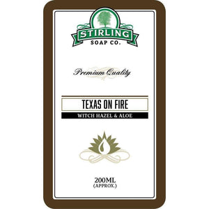 You added Stirling Texas on Fire - Witch Hazel & Aloe 200ml to your cart.