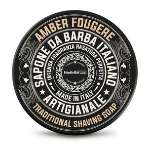 You added Amber Fougere Shaving Soap by The Goodfellas' Smile to your cart.