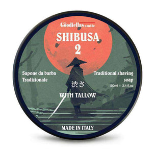 You added Shibusa 2 Shaving Soap by The Goodfellas' Smile to your cart.