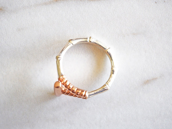 Rose Gold Polo Ring