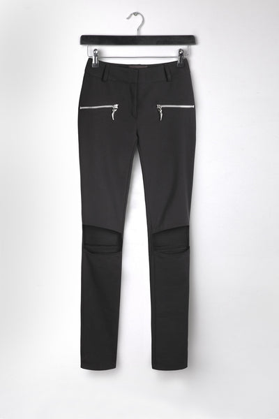 Cut-Out Slim fit Pants