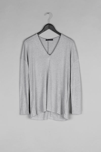 Over Sized Thin Knit- Grey