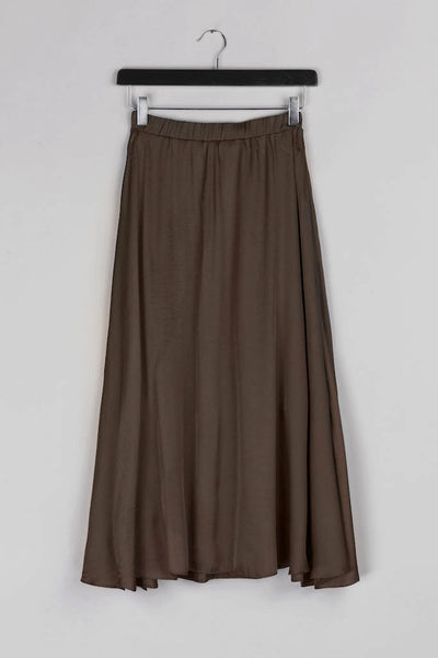 Cloche Skirt- Brown