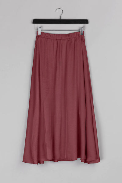 Cloche Skirt- Red