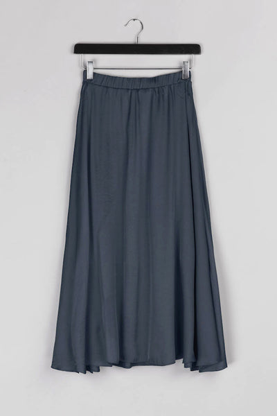 Cloche Skirt- Navy Blue