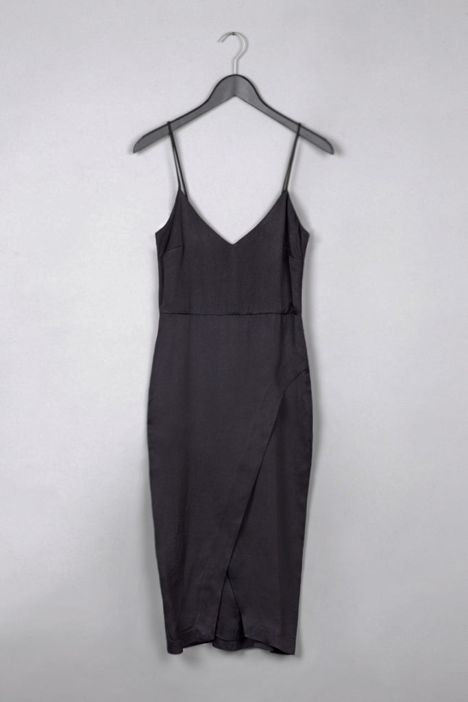 Silk Thin Strap Dress