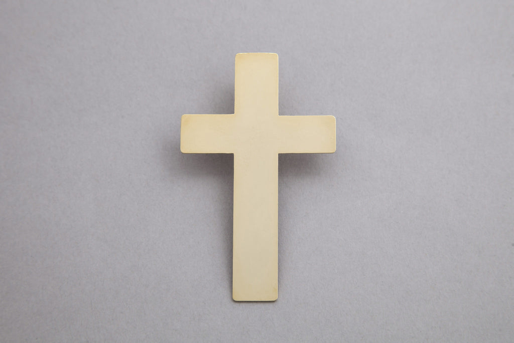 1 Religion Cross Earring