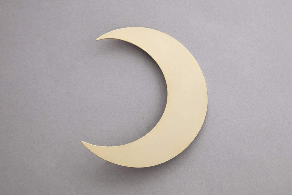 1 Religion Moon Earring
