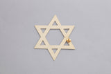 1 Religion Star Of David Earring