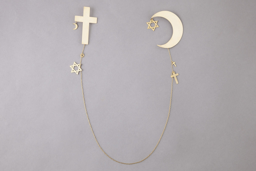 3 Religions Back Neckless