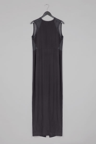 Sheer Back Maxi Dress